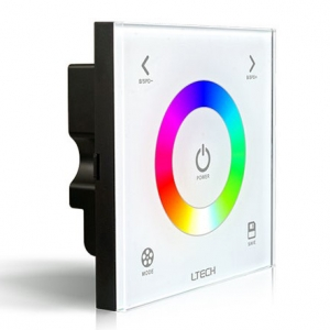 wall mounted control for led lighting