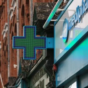 pharmacy sign led